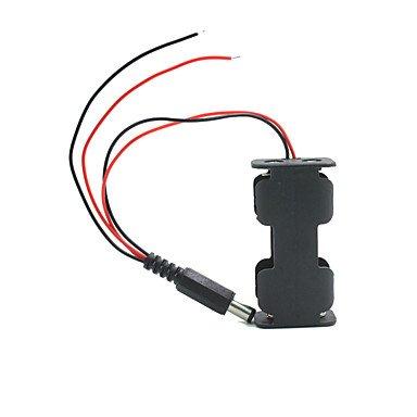 Für Arduino-Kits Landa Tianrui tm-Dual-Ausgang 2 * AA-Batterien Haltergehäuse w/Netzstecker für Arduino Kit W/2 Batterien