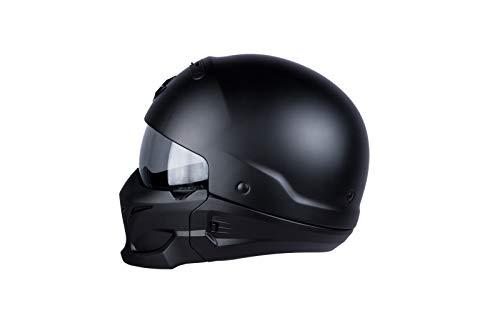 Scorpion Motorradhelm Exo Combat, Schwarz, Größe M - 2
