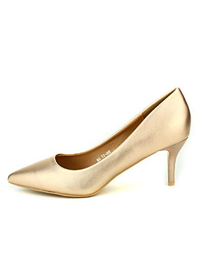 Cendriyon, Escarpin Color Champagne CINKS Chaussures Femme