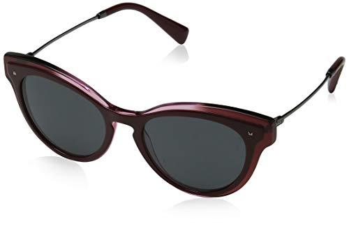 Valentino Damen 0VA4017 505387 51 Sonnenbrille, Rot (Top Burgundy/Gradient Red/Demolens)