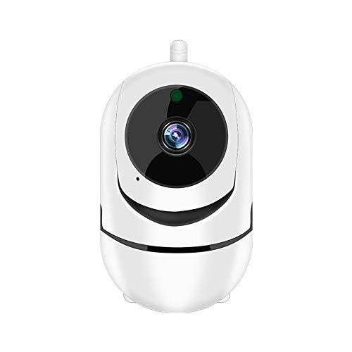TechCode Überwachungskamera WiFi IP Kamera, HD 1080P Cloud IP Kamera Auto Ansicht Netzwerk WiFi Kamera Wireless Kamera Cloud Kamera für Indoor Nachtsicht Home Security Überwachungskamera Tilt Indoor Kamera