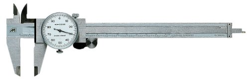 Metrica 10023 Calibro a Quadrante, 0-150 mm 1/100
