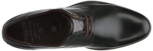 bugatti 312163021100 Herren Derby Schwarz (schwarz 1000)