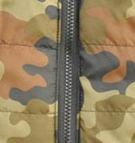Doggie Style Store Green Camouflage Camo Dog Pet Puppy Puffer Warm Winter Padded Quilted Vest Coat Jacket Size XS 3