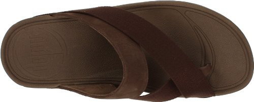 FitFlop Sling, Sandales homme Chocolat