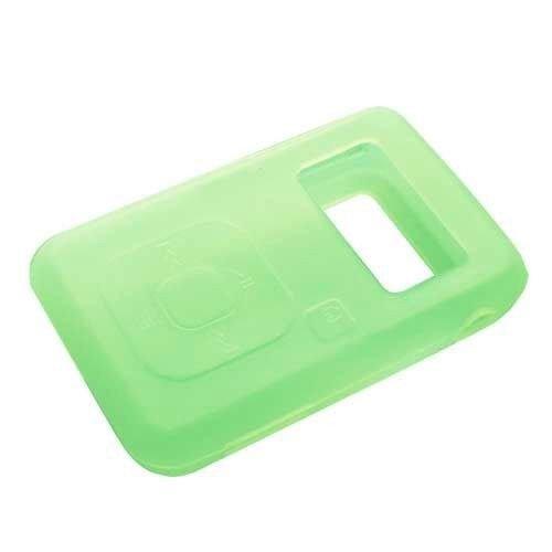 Upper Tech Uk Grün/Gelb Silikon Haut CASE für SanDisk Sansa Clip Plus + MP3-Player Cover Halter Sansa Mp3-player Case