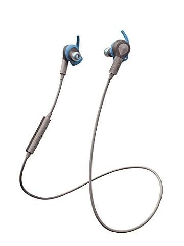 Jabra Sport Coach Wireless Bluetooth Stereo Headphones for Cross Training - Blue/Grey