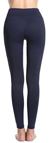 Harem Yoga Damen Yoga Hose Aktive Sportliche Hose mit Mesh Blue