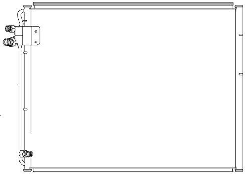 BEHR HELLA SERVICE 8FC 351 036-761  Kondensator, Klimaanlage -
