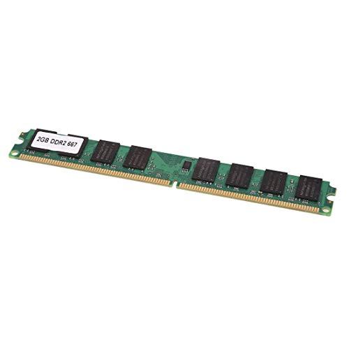 SODIAL(R) 2GB 2G RAM Speicher DDR2 PC2-5300/U 667MHZ DIMM Memory 240pin PC Arbeitsspeicher -
