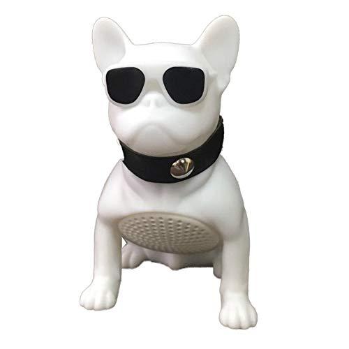 2 Speaker 10w Leistungsstarke Bass-Stereo-Unterstützung U Disk/TF-Karte Bulldog Design für Smart Devices ()