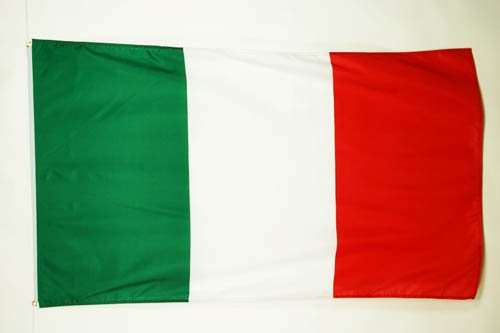 BANDIERA ITALIA 150x90cm - BANDIERA ITALIANA 90 x 150 cm - AZ FLAG