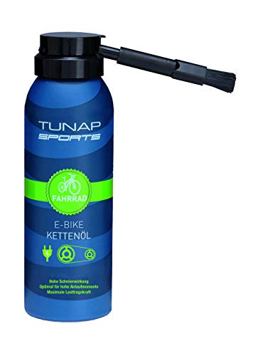 TUNAP Sports Unisex- Erwachsene E-Bike Kettenöl 50 ml, 1102753, blau, 50ml