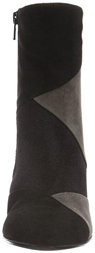 Gabor Basic, Bottes Classiques Femme Multicolore (Schw./Pazifik/Zinn 17)