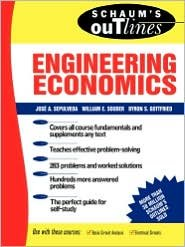 Schaum's Outline of Engineering Economics 1st (first) edition Text Only