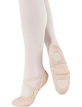 SD110-C So Danca Schläppchen - mittlere Weite - Superpro Ballett Turn Gymnastik Sport Tanz Fitness, Leder mit...