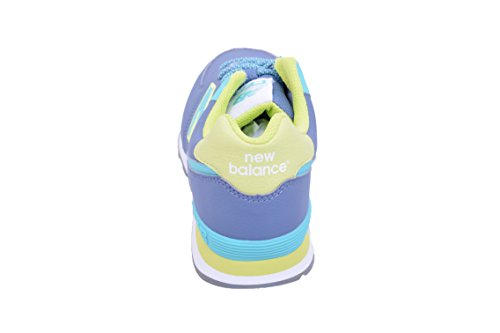 New Balance 574, Scarpe da Ginnastica Alte Unisex – Bambini Z5 - Yellow/Aqua