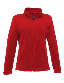 Regatta Damen Jacke Full Zip Micro-Fleece 16 Classic Red Classic Fleece