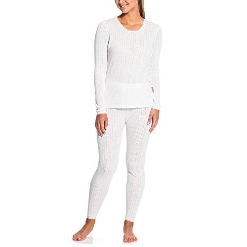 Gregster Damen Skiunterwäsche Hydrothem, Weiß, L, 12319-002