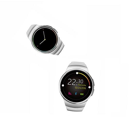 Bluetooth Smartwatch Android Armbanduhr Fitness Tracker Armband Uhr Damen Ersatz Schrittzähler Armband App Android Anruf Fitness Armband Elegant Golf Handy Wasserdicht Bluetooth Anruf Fernbedienung Herzfrequenz-Test KSHE18