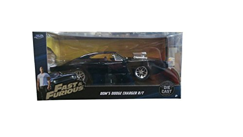 fast and furious modellautos Unbekannt Fast & Furious Modellauto aus Metall - Dom's 70 Dodge Charger R/T - Länge 22 cm