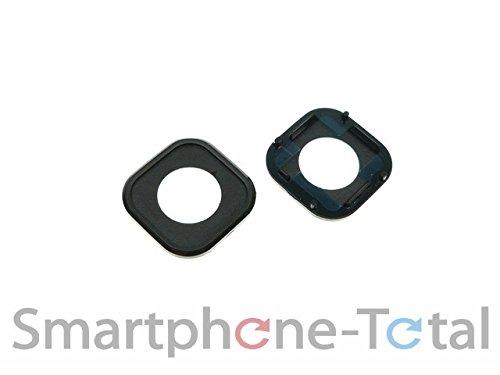 NG-Mobile Rahmen für Kameralinse Kamera Fenster Glas Scheibe Abdeckung + Kleber Klebepad für HTC ONE M9 schwarz M9 Mobile