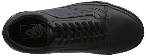 Vans Old Skool, Chaussures de Running Femme Noir (Embossed Sidewall)