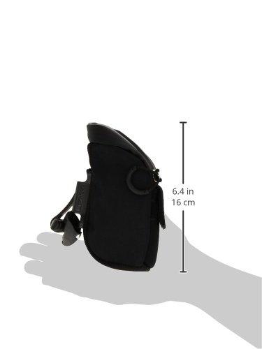 Micro Caddy QR Satteltasche Schwarz