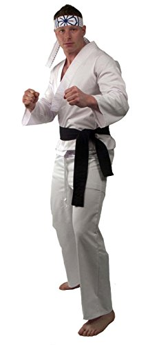Karate Kid Daniel-San Deluxe Costume Adult ()