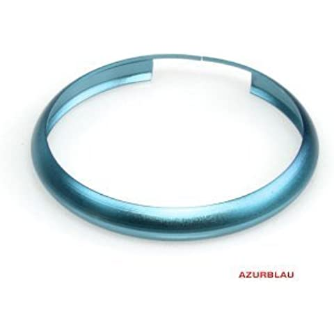 Mini Llavero, azur Azul Anillo de color para mini One, Cooper, Cooper S, Countryman, Paceman, JCW