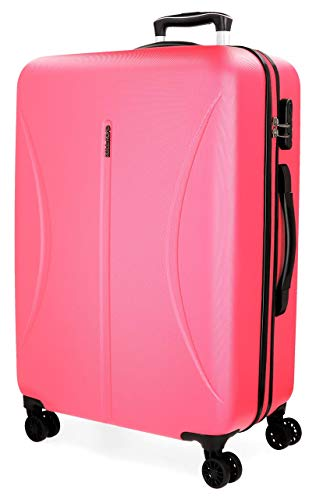 Roll Road Camboya Pink Big Rigid Trolley, 77 cm