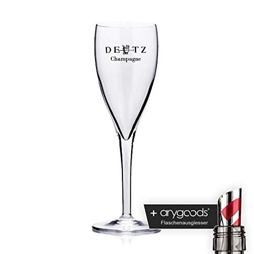 Deutz Verre/verres 0,1 l Champagne Michelangelo Gastro Bar Décoration