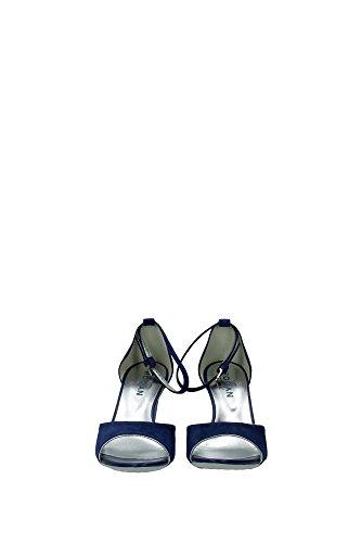 HXW2270N660CR0U816 Hogan Compensée Femme Chamois Bleu Bleu