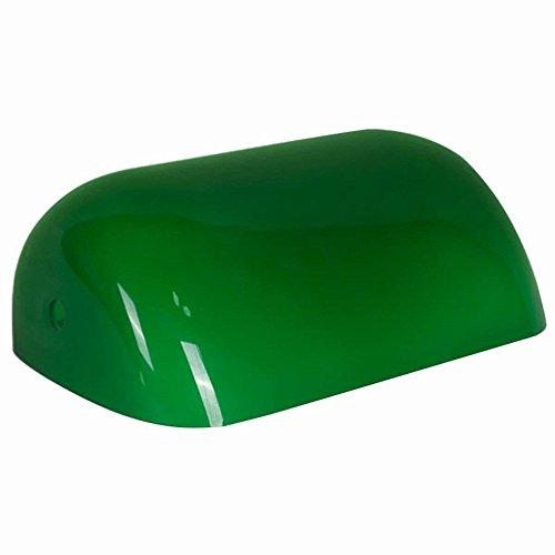 Newrays Remplacement Glass Bankers Couverture de l'abat-jour pour lampe de bureau (vert)