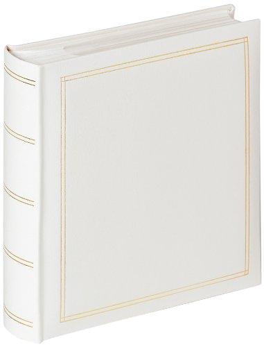Walther Design ME-139-W Einsteckalbum für Kinder für 200 Fotos, PVC, Weiß, 26 x 5 x 28 cm (10 X 13 Fotoalbum)