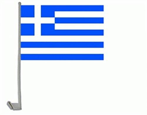 Preisvergleich Produktbild trends4cents Autoflagge Autofahne Griechenland 30 x 40 cm