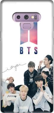 MOBILINNOV Samsung Galaxy Note 9 K-pop BTS Bangtan Boys Silikon Hülle Handyhülle Schutzhülle - Zubehor Etui Smartphone Samsung Galaxy Note 9 Accessoires