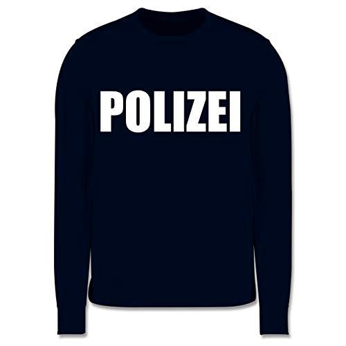 Shirtracer Karneval & Fasching Kinder - Polizei Karneval Kostüm - 3-4 Jahre (104) - Navy Blau - JH030K - Kinder Pullover