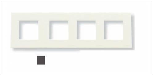 Niessen - n2273.1pl marco basico 3 ventanas zenit plata Ref. 6522015243