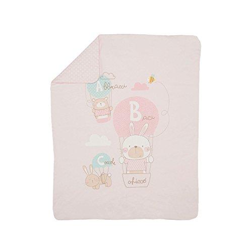 Chicco coperta carrozzina, sacco nanna unisex-bimbi, (rosa chiaro 011), taglia unica
