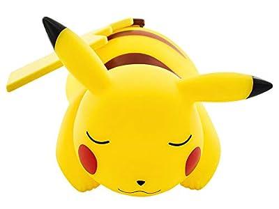 Teknofun Pokémon - Lámpara LED, diseño Pikachu dormido (25 cm) color amarillo de Madcow Entertainment