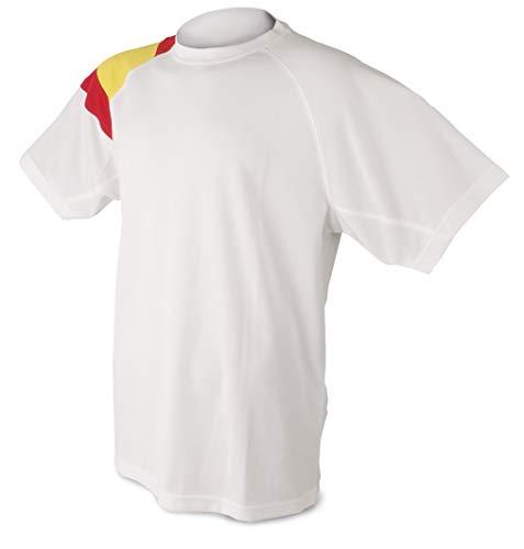 Camiseta Bandera D&F-Camiseta Blanca Colores España