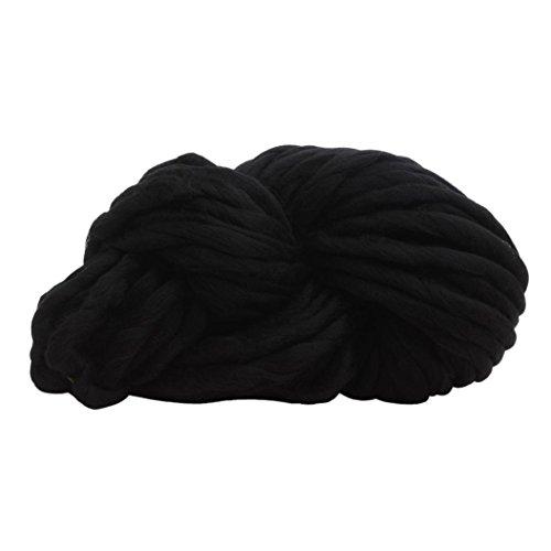 Wolle Ball, wuayi Wolle Garn Super Weiches klobigen Arm Stricken Wolle Roving Häkeln DIY weben handgefertigt Pullover Hat Schals ()
