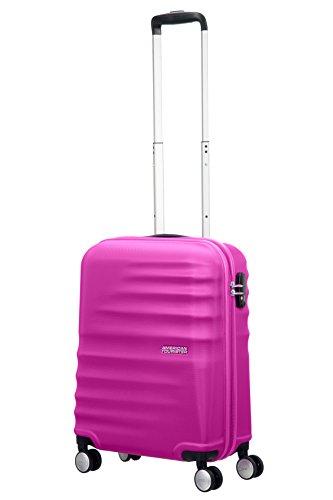 american-tourister-wavebreaker-handgepack-spinner-mit-doppelrollen-und-tsa-inkl-kofferanhanger-und-k
