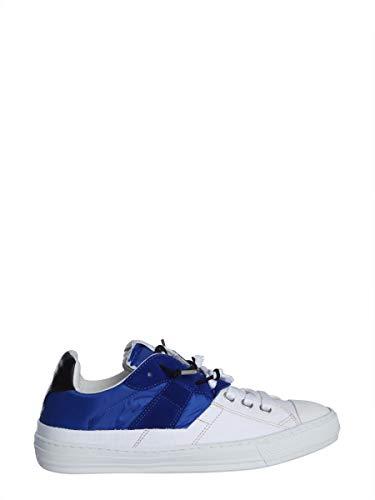 Maison Margiela Sneakers Uomo S37ws0480p2422h7396 Pelle Bianco/Blu