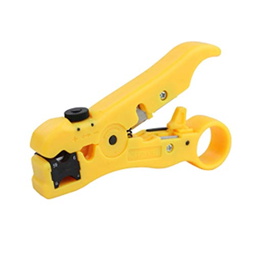 fghfhfgjdfj Compact Size Automatic Self Crimper Stripping Cutter Adjusting Cable Lead Wire Stripper Terminal Tool -
