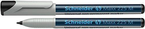 Preisvergleich Produktbild Schneider Schreibgeräte Universalmarker non-permanent Maxx 225 M, 1,0 mm, schwarz