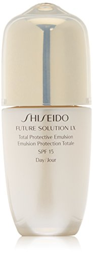 Shiseido Future Solution Lx Total Protective Emulsion, SPF 15, Donna, 75 ml