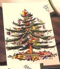CR Gibson Christmas Tree Spode 3-Lagig Papier Guest Servietten, 16Stück -
