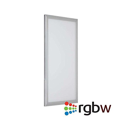 Panel LED 25W, RGB + Blanco Frío CW (6000K), RF, 30x60cm, Regulable